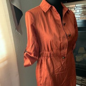 Limited burnt orange dress